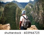 machu picchu  peru  south... | Shutterstock . vector #603966725