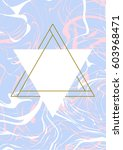 minimal geometric creative... | Shutterstock .eps vector #603968471