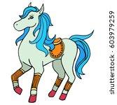 horse. vector   Shutterstock .eps vector #603979259
