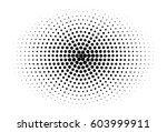 abstract halftone pattern... | Shutterstock .eps vector #603999911