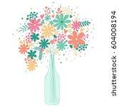 vector illustration with...   Shutterstock .eps vector #604008194