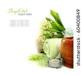 spa background. shallow dof | Shutterstock . vector #60400849