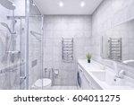 russia  moscow   modern...   Shutterstock . vector #604011275