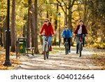healthy lifestyle   people... | Shutterstock . vector #604012664