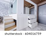 russia moscow   modern interior ...   Shutterstock . vector #604016759