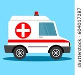 Vector Illustration Ambulance...