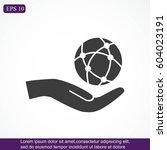 global technology or social... | Shutterstock .eps vector #604023191