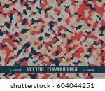 bright vector camouflage | Shutterstock .eps vector #604044251