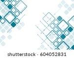 concept of the future abstract... | Shutterstock .eps vector #604052831