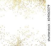 gold glitter background polka...   Shutterstock .eps vector #604063379