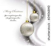 christmas background. eps10.   Shutterstock .eps vector #60406840