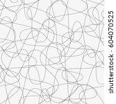 vector seamless pattern.... | Shutterstock .eps vector #604070525