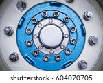detail of an automobile or... | Shutterstock . vector #604070705