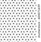 vector seamless pattern. modern ... | Shutterstock .eps vector #604071659