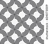 vector seamless pattern.... | Shutterstock .eps vector #604073009
