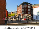 street view of hamburg  germany | Shutterstock . vector #604098011