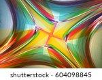 fractal art background for... | Shutterstock . vector #604098845