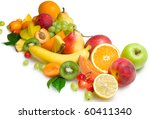 fruit collection | Shutterstock . vector #60411340