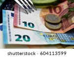 expensive life  high costs for... | Shutterstock . vector #604113599