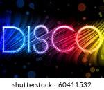 vector   disco abstract...   Shutterstock .eps vector #60411532