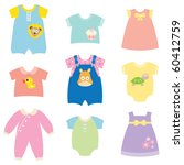 vector collection of baby and... | Shutterstock .eps vector #60412759