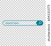 search bar field. vector...