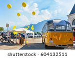 vevey  switzerland   august 27  ... | Shutterstock . vector #604132511