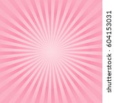 abstract soft pink peach rays...   Shutterstock .eps vector #604153031