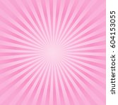 abstract soft pink rays...   Shutterstock .eps vector #604153055