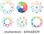 business infographics.... | Shutterstock .eps vector #604168529