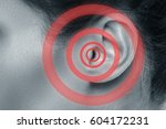 Close Up Of Female Ear With...