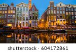 traditional old buildings and... | Shutterstock . vector #604172861