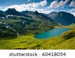Mountain Landscape In Green...
