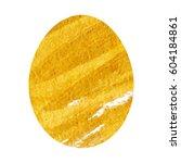 easter egg . illustration in... | Shutterstock .eps vector #604184861