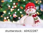 Festive Snowman With Christmas...