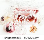 jewelry table with lot of girl...   Shutterstock . vector #604229294