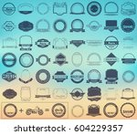 make your labels or logotypes... | Shutterstock .eps vector #604229357
