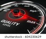 maximum quality concept  ... | Shutterstock . vector #604230629