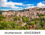classic panoramic view of the... | Shutterstock . vector #604230869