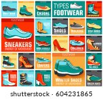 big flat illustration... | Shutterstock .eps vector #604231865