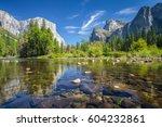 Classic View Of Scenic Yosemite ...