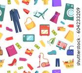best shopping illustration... | Shutterstock .eps vector #604233209