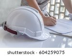 construction work | Shutterstock . vector #604259075