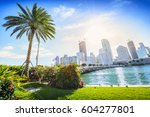 sunshine miami. located in... | Shutterstock . vector #604277801