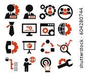 system  user  administrator... | Shutterstock .eps vector #604280744
