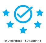 best rating  five start rating. ...   Shutterstock .eps vector #604288445