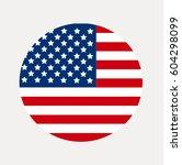 american flag of the united... | Shutterstock .eps vector #604298099