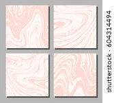 abstract marbled backgrounds in ... | Shutterstock .eps vector #604314494