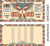 ticket for the performance and... | Shutterstock .eps vector #604322465
