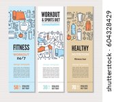 print or web banners design... | Shutterstock .eps vector #604328429